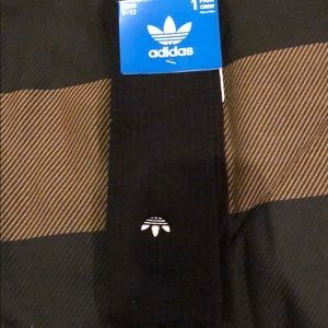 Brand new Adidas Socks w/embroidered logo